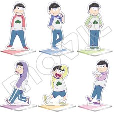 Osomatsu-san Anime Edition Big Acrylic Stand Collection