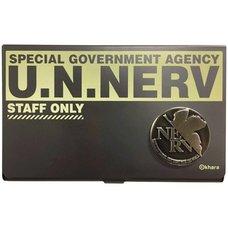 Evangelion Store Original U.N. NERV Card Case