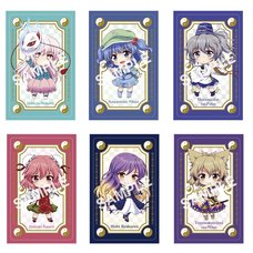 Touhou Project Card Decoration Stickers