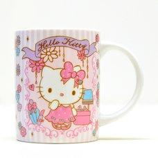 Hello Kitty Holiday Collection Girly Flower Ceramic Mug