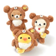 Rilakkuma Korilakkuma to Atarashii Otomodachi Plush Collection