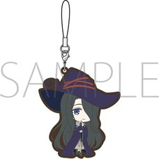 Wandering Witch: The Journey of Elaina Fran Rubber Strap