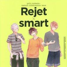 Rejet x Smart: Girl's Contents x Fashion Collaboration Issue: Rejet x Men's Fashion