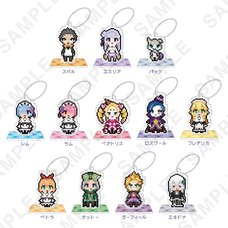 Re:Zero -Starting Life in Another World- Petit Bit Acrylic Stand Figure: 2nd Season Ver. Complete Box Set