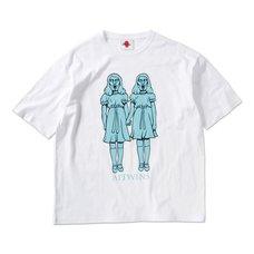 AITWINS Big White T-Shirt