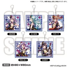 BanG Dream! Special☆Live Girls Band Party! 2020 Roselia Acrylic Keychain Collection