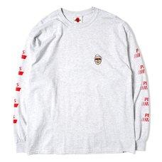 Mr. Fried Chicken Ash Long Sleeve T-Shirt