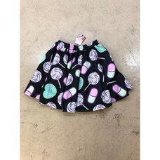 ACDC RAG Menhera-chan Yumekawa-chan Flared Skirt