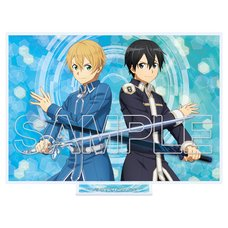 Sword Art Online: Alicization Kirito & Eugeo Double Sword Acrylic Stand