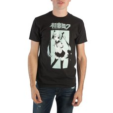 Hatsune Miku Graphic Men's Crew Neck Tee