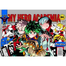 My Hero Academia 2021 Comic Calendar