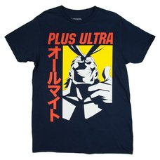 My Hero Academia Plus Ultra Navy Men's T-Shirt