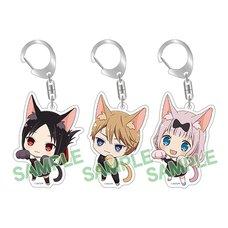 Kaguya-sama: Love Is War Kitty Keychain