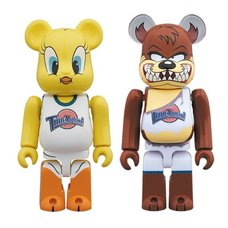 BE@RBRICK Tweety & Tasmanian Devil 100% 2-Pack