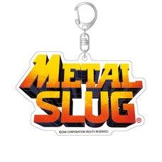 Metal Slug Title Logo Acrylic Keychain