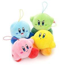 Kirby Multicolored Mini Plushies