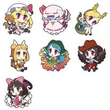 Touhou Project Yurutto Touhou Acrylic Keychain Charm Collection Vol. 6