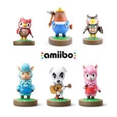 Animal Crossing amiibo 3-Pack w/ 3 Free Animal Crossing amiibo (Option A)
