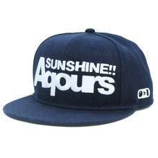 Love Live! Sunshine!! Aqours Embroidery Flat Cap