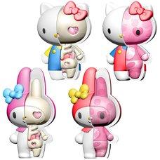 Puzzle Mascot Kaitai Fantasy Hello Kitty & My Melody Assortment Set