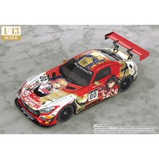 1/43 Scale Goodsmile Racing & Type-Moon Racing 2019 Spa 24 Hours Test Day Ver.