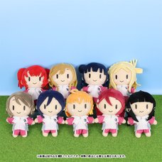 Love Live! School Idol Project Gym Clothes Ball Chain Plush Collection