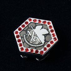 Evangelion x Swank NERV Logo Button Cover Set
