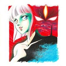 Kentaro Yano Jashin Densetsu Series 4: Confusion Reproduction Art Print