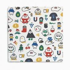 "error403 ""Shima ni Sundeko"" Square Textile Panel"