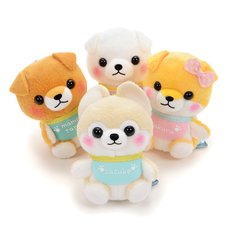 Mameshiba San Kyodai Baby Dog Plush Collection Vol. 2 (Mini Strap)