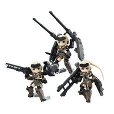 Desktop Army KT-321f Frame Arms Girl Gourai Series Box Set