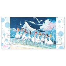 Love Live! Sunshine!! Aqours 5th Anniversary Special Tribute Illustration Bath Towel