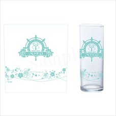 Hatsune Miku Summer Party Slim Glass