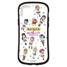 Crayon Shin-chan x Love Live! Sunshine!! Smartphone Case