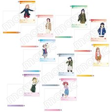 Love Live! School Idol Project Casual Outfit Clear File Collection