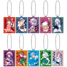 Touhou Project Nickname Acrylic Keychain Collection Box Set