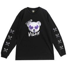 LISTEN FLAVOR Villain Long-Sleeve T-Shirt