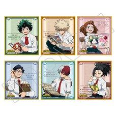 My Hero Academia Autumn Reading Mini Shikishi Board Collection Box Set