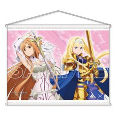 Sword Art Online Alicization: War of Underworld Asuna & Alice B2-Size Tapestry