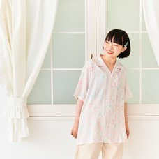 CLAMP 30th Anniversary All-Over Print Open Collar Shirt