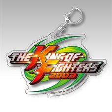 The King of Fighters 2003 Title Logo Acrylic Keychain