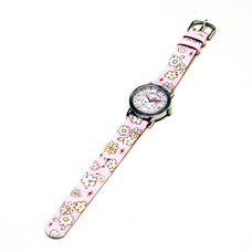 Hello Kitty Holiday Collection Girly Flower Wristwatch