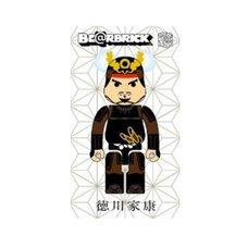 Samurai Warrior BE@RBRICK Tokugawa Ieyasu 100%