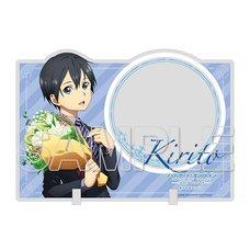Sword Art Online Kirito Acrylic Memo Stand: Bouquet Ver.