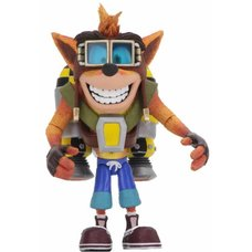 Crash Bandicoot Deluxe Crash w/ Jetpack Action Figure