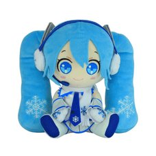 Snow Miku Plush