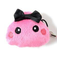 Pink Hoppe-chan Mini Plush Strap