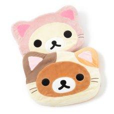 Rilakkuma Motto Nonbiri Neko Mochi Mochi Seat Cushions