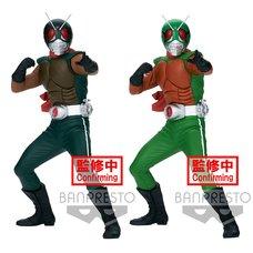 Hero's Brave Statue Kamen Rider Skyrider