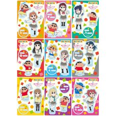 Crayon Shin-chan x Love Live! Sunshine!! Acrylic Stand Collection